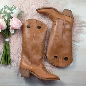 Vintage Charlie's Angel acme 70's western boots